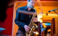Saxophonist-Firmenevent