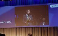 Saxophonist-Schweiz-saxophonspieler