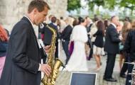 Saxophonist-Hochzeit-Hochzeitsmusik