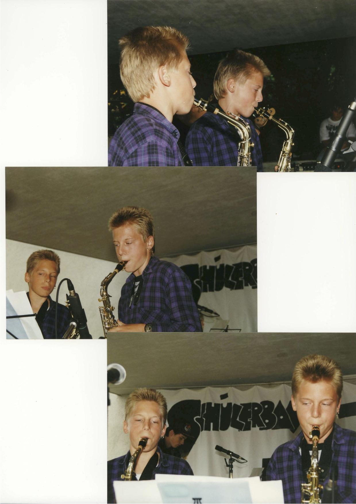 Saxofonist Zürich Schweiz Saxophonspieler